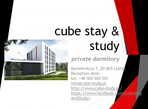 CUBE STAY & STUDY