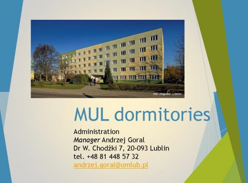 MUL DORMITORIES